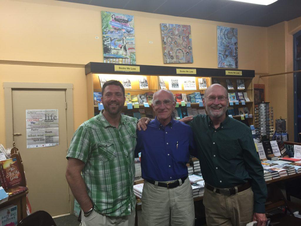Jason Bremiller (Phillips Exeter), John Elder (Middlebury College), and Soctt Russell Sanders (Indiana University)